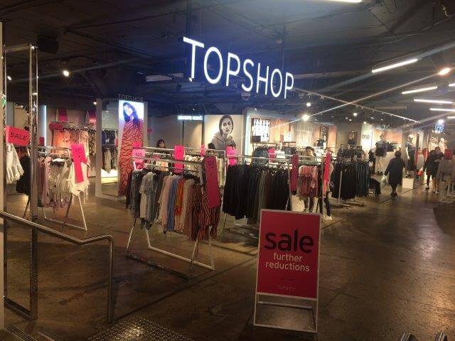 <em>Top Shop Melbourne Brand Distribution Australian (Photo: Melinda Barlow)</em>