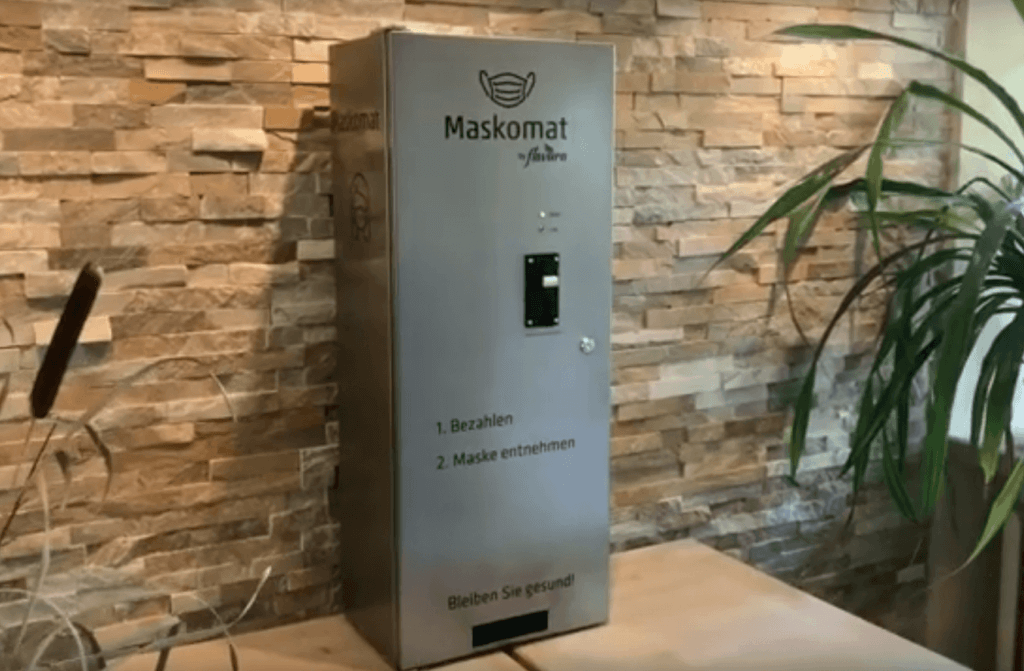 Retail Operations made in 2020 -a Mask Dispenser