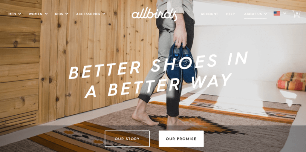 Allbirds - Better Shoes in a Better Way (Photo: official website)