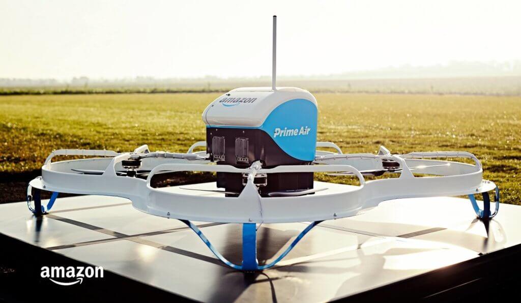 Digital Distribution Amazon Prime Air Drone Delivery