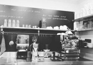 Edelkraut first offline coffee and tea bar