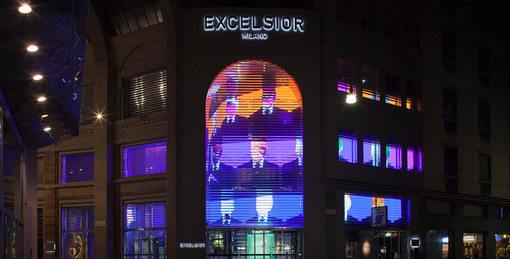 one of Excelsior Milano's Department Stores in Italy