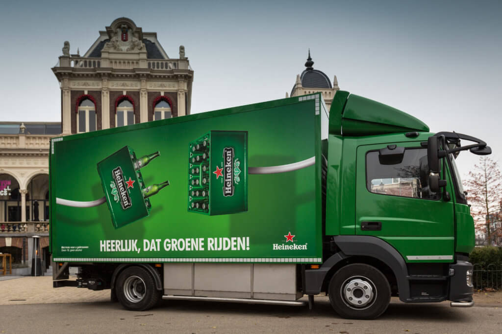 last mile innovation Heineken