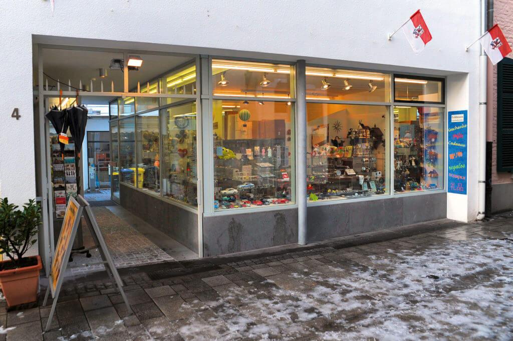 The shop of Hans-Peter Feldmann at it's former location in Wallstraße 4, Düsseldorf, Germany in 2015; © VG Bild-Kunst, Bonn 2017 / Photo: Hans-Peter Feldmann
