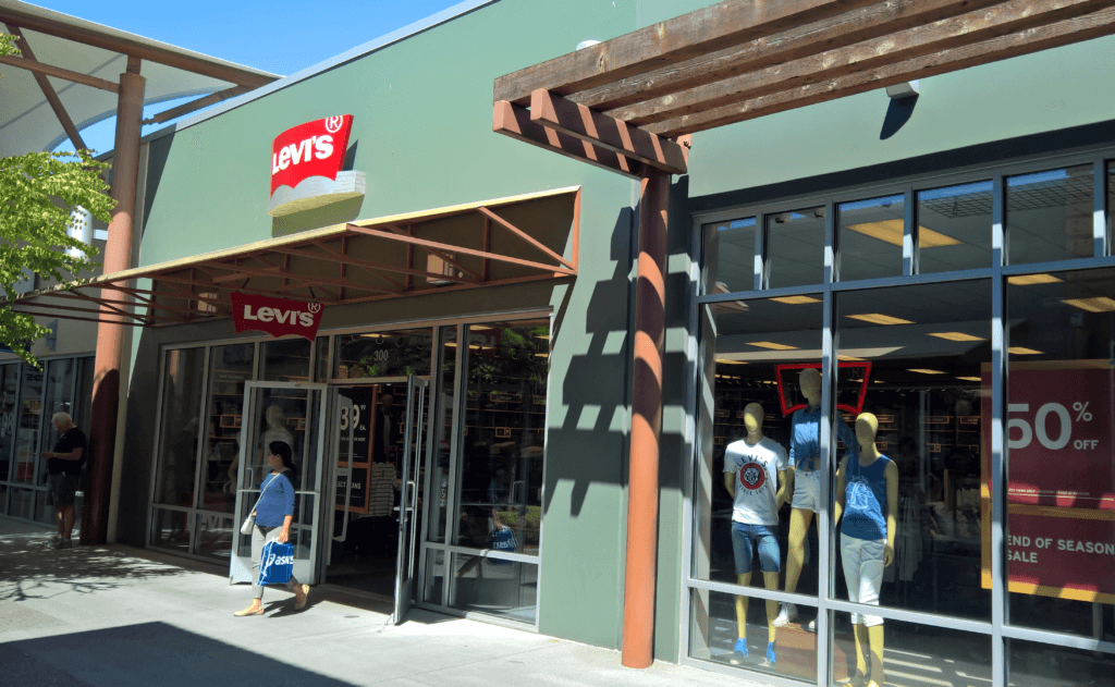 sales and distribution, international expansion at Levi's