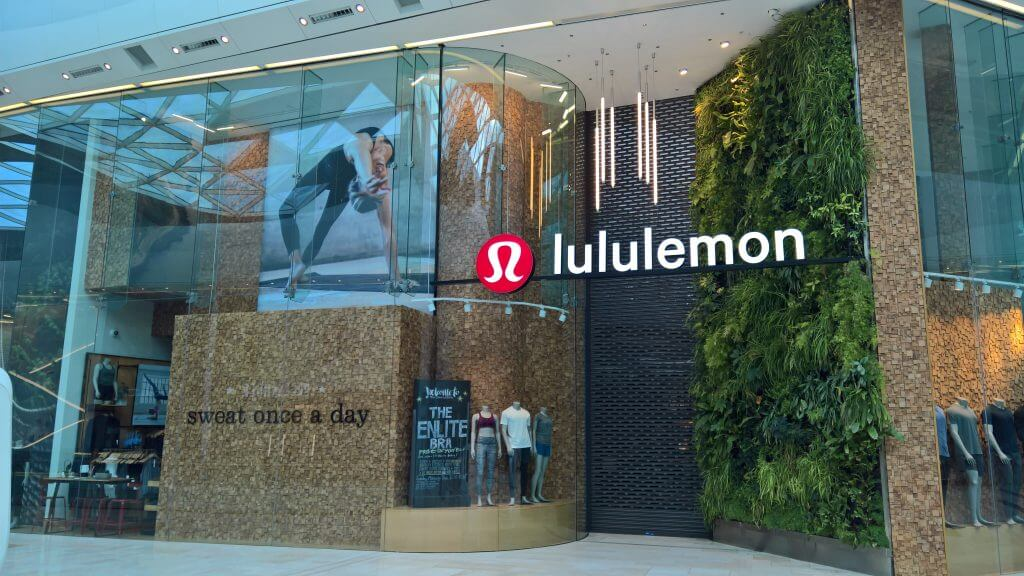 LululemonRetail performance