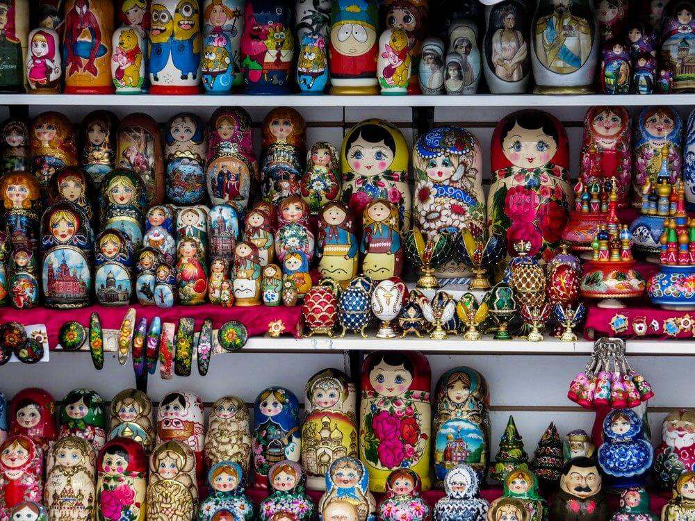 Matryoshka Distribution St. Petersburg Photo: shutterstock_640240735