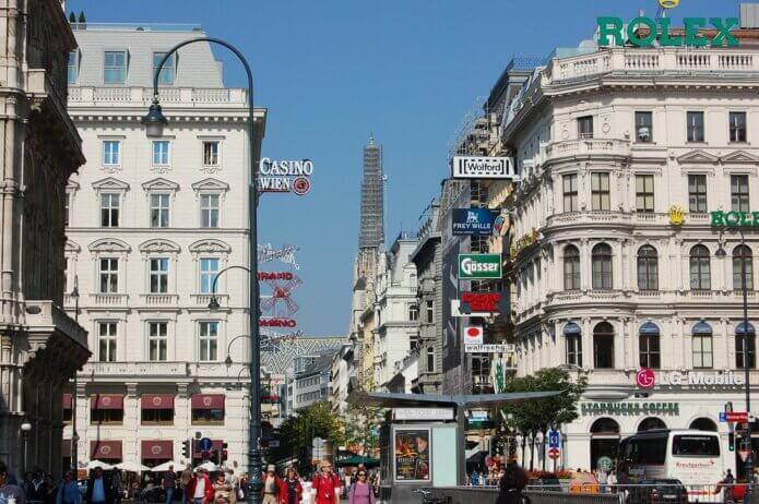 Shopping Street Kärntner Straße