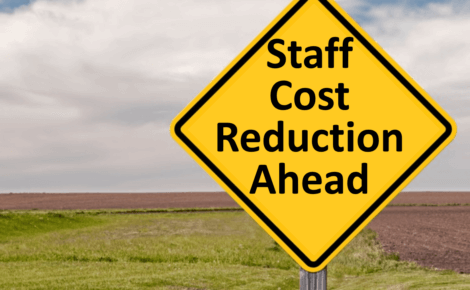 Staff Cost Reduction Ahead