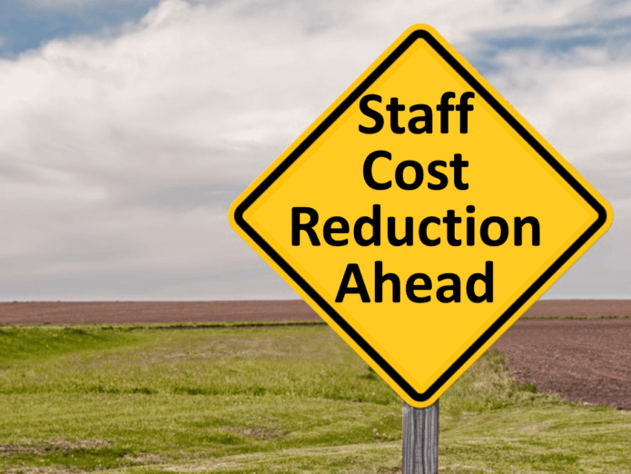 Staff Cost Cutting Ahead