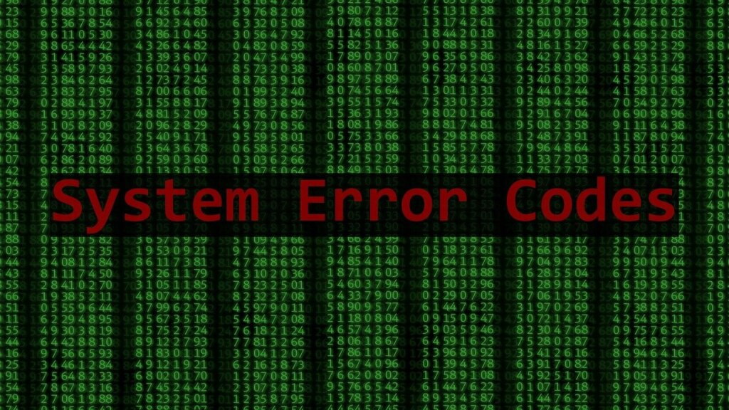 System error (Photo: PagDEV auf Pixabay