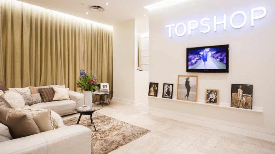 Personal Shopping service experience Top Shop