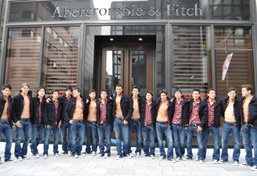 Abercrombie – the Beach Models are Gone, It's All Down to the Business Model