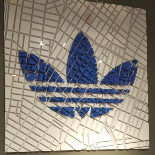 Local Customization at Adidas store New York, photo: Brand Experts