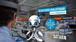 Augmented Reality at Saturn (Source:Saturn; http://www.horizont.net/tech/nachrichten/Shoppen-mit-Datenbrille-Media-Markt-Saturn-wirbt-auf-Holo-Tour-fuer-Augmented-Reality-157769)
