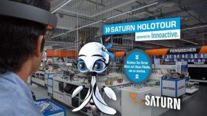 Augmented Reality at Saturn (Source:Saturn; http://www.horizont.net/tech/nachrichten/Shoppen-mit-Datenbrille-Media-Markt-Saturn-wirbt-auf-Holo-Tour-fuer-Augmented-Reality-157769)
