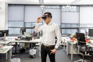 Microsoft HoloLens (Source: Zuehlke Engineering Austria)