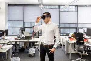 Microsoft HoloLens (Source: Zuehlke Engineering Austria)