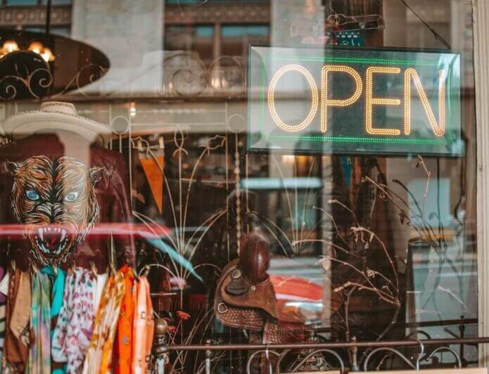 corona crisis retail open