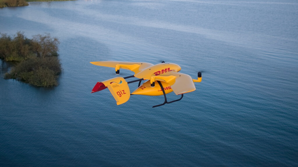 DHL Drone Delivery Parcelcopter