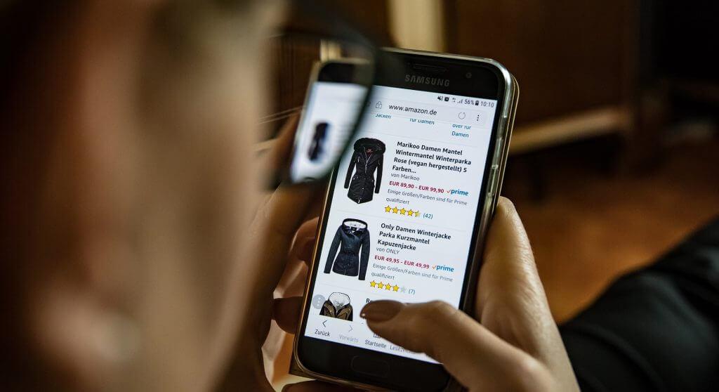 Online shopping European brand retail